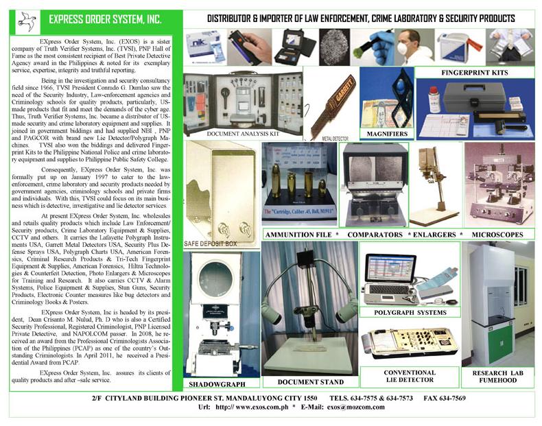 Express Order Company Brochure