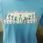 sfc tshirt blue
